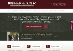 Berman Russo website thumbnail