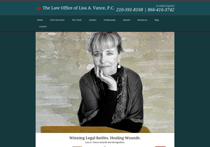 Lisa A. Vance, P.C. website thumbnail