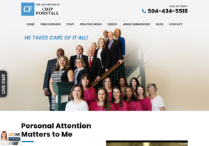 Law Offices of W.A. website thumbnail