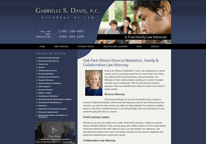 Law Offices of Gabrielle S. Davis website thumbnail