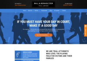 Ball & Bonholtzer website thumbnail